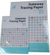 A4 112gsm Gateway Tracing Paper Pad